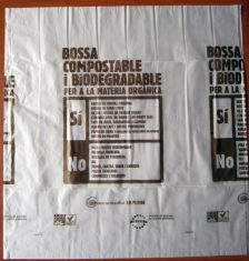 Bossa compostable i biodegradable